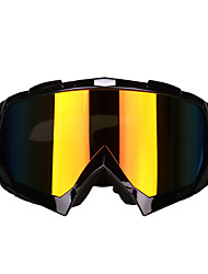 cheap -Motorcycle Goggles Anti-impact Ski Goggles Cycling Hiking Glasses Outdoor Accessory