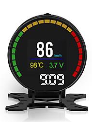 Недорогие -HUD автомобиль голова дисплей двигатели цифровые проекторы прибор измеритель скорости p15