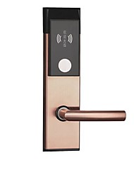 cheap -216-3B Aluminium alloy Intelligent Lock Smart Home Security System Mechanical key unlocking Apartment / Hotel Security Door (Unlocking Mode Mechanical key / Card)