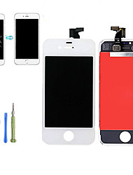 cheap -2019 new Replacement LCD Display Touch Screen Digitizer Assembly  Front Panel Kit with Disassembly Tools for iPhone 4 / 4s QYQfashion