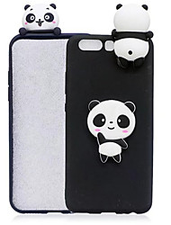 cheap -Case For Apple iPhone XR / iPhone XS Max / iPhone X Shockproof / Dustproof / Water Resistant Back Cover Animal / Cartoon / Panda Soft Silica Gel