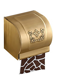 cheap -Toilet Paper Holder Creative Contemporary Brass 1pc Wall Mounted