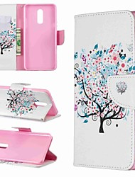 cheap -Case For LG LG V30 / LG V20 / LG Stylo 4 Wallet / Shockproof / with Stand Full Body Cases Tree Hard PU Leather / LG G6