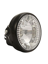 cheap -Universal 7 inch Motorcycle ATV Headlight Front Light LED Cornering Lamp with Mounting Brackets