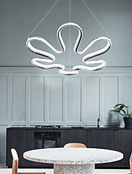 cheap -1-Light LED® Sputnik Novelty Chandelier Ambient Light Painted Finishes Aluminum Creative 110-120V 220-240V Warm White Cold White