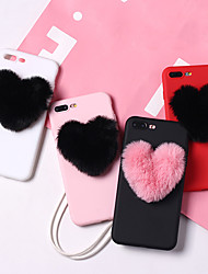 cheap -Case For Apple iPhone XS / iPhone XR / iPhone XS Max Shockproof / Dustproof / Water Resistant Back Cover Heart Soft TPU