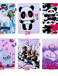 cheap -Case For Amazon Kindle PaperWhite 4 / Kindle PaperWhite 2(2nd Generation 2013 Release) Auto Sleep / Wake Up / Magnetic / Flip Full Body Cases Animal / Cartoon / Panda Hard PU Leather for Kindle