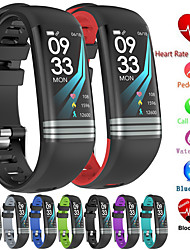 cheap -G26s Smart Fitness Bracelet Continuous Heart Rate Monitor Blood Pressure Fitness Tracker Color Screen Smart Watch