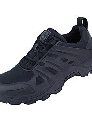 cheap -Men's Hiking Shoes Lightweight Breathable Anti-Slip Sweat-wicking Low-Top Running Hiking Climbing Autumn / Fall Spring Summer Black