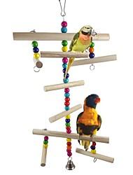 cheap -Bird Perches & Ladders Pet Friendly Focus Toy Felt / Fabric Toys Bird Wood Metal 40 cm