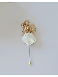 cheap -Women's Brooches Retro Brooch Jewelry Gold / Pink White Red For Wedding