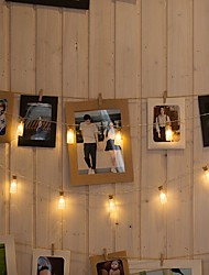 cheap -3m String Lights 20 LEDs 1 set Warm White Decorative AA Batteries Powered