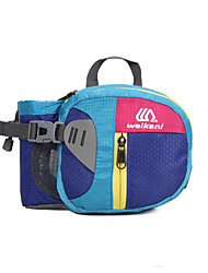 cheap -Hiking Waist Bag Lightweight Breathable Quick Dry Wear Resistance Outdoor Hiking Climbing Camping Oxford Green Blue Dark Pink / Marathon