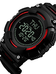 cheap -SKMEI®1259 Men Women Smartwatch Android iOS WIFI Waterproof Sports Long Standby Smart Compass Chronograph Calendar Dual Time Zones