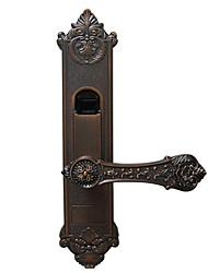 Недорогие -отпечатков пальцев замок в помещении интеллектуальные европейские двойные двери, спальни, двери, крытый кабинет, посвященный
