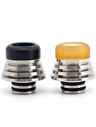 cheap -YUHETEC 510 Drip Tip PEI Stainless Steel with Heat Dissipation Function for ijust S/TFV8 baby/TFV12 BABY PRINCE/stick M17/MELO 4 D25 Atomizer