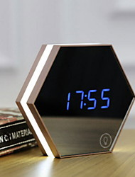 cheap -Alarm clock Digital Plastics LED 1 pcs