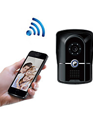 cheap -WIFI1001FG WIFI doorbell IP55 waterproof HD 1080P waterproof video doorbell call intercom remote unlock