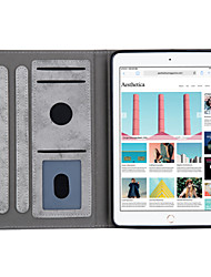 cheap -Case For Apple iPad Mini 3/2/1 / iPad mini 4 / iPad mini 5 Auto Sleep / Wake Up / Magnetic / with Stand Full Body Cases Solid Colored Soft PU Leather for iPad Mini 3/2/1 / iPad Mini 4 / iPad Mini 5