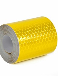cheap -3mx5cm Colorful Reflective Safety Warning Conspicuity Tape Film Sticker 3M