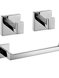 cheap -Bathroom Accessory Set New Design / Creative Contemporary / Fun & Whimsical Metal 3pcs - Bathroom Wall Mounted