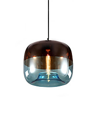 cheap -1-Light 24 cm Creative Pendant Light Glass Glass Globe Artistic / Globe 110-120V / 220-240V