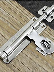 abordables -porte de verrouillage en acier inoxydable porte niu bao solide peut être cadenassé porte vache gauche et loquet droit 8 pouces