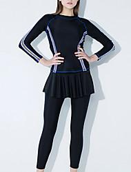 cheap -Kaiyulang Women's Rash Guard Dive Skin Suit Breathable Full Body Watersports / High Elasticity