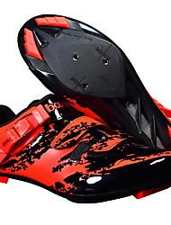 cheap -BOODUN Men's Bike Shoes Nylon, Fiberglass, Air-flow vents, Non-Slip tread PVC Cycling / Bike Sports EVA(ethylene-vinyl acetate copolymer) Black Red Dark Green