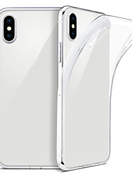 cheap -Case For iPhone XS Max  XS Slim Clear Soft TPU Cover Support Wireless Charging for iPhone XR 8 Plus 8 7 Plus 7 6 Plus 6