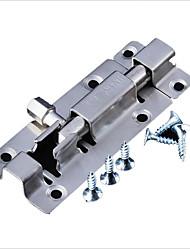 cheap -8 inch stainless steel latch small latch small door bolt wooden door bathroom door latch