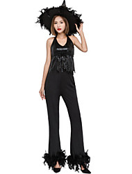 cheap -Witch Movie / TV Theme Costumes Uniforms Cosplay Costume Masquerade Adults' Women's Outfits Halloween Christmas Halloween Carnival Festival / Holiday Oxford Cloth Polyster Black Carnival Costumes
