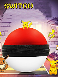cheap -nintendo ns pokeball plus controller game controller bag black red portable carrying