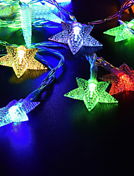 cheap -LOENDE 5m 50 LEDs String Lights  Warm White / RGB / White Solar Powered Christmas Holiday Wedding Decoration Party Lighting
