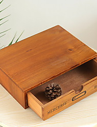 cheap -Storage Box Wooden Antique Accessory 1 Storage Box Household Storage Bags