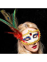 cheap -Halloween Mask Masquerade Mask Plastic LED LED Lighting Horror Adults' Boys' Girls'