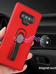 cheap -Samsung mobile phone case with ring bracket car holder PC hard case for Samsung Note 8/Note 9/Note 3/Note 4/Note 5 mobile phone case