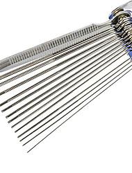 Недорогие -Набор инструментов для очистки струи карбюратора Набор для чистки провода карбюратора для частей ATV мотоцикла