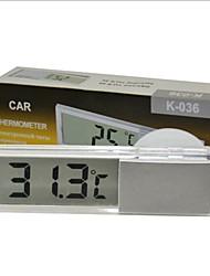 Недорогие -осциллирующий жк-дисплей автомобильный цифровой термометр по Цельсию по Фаренгейту внешний датчик электронный тестер
