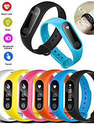 cheap -M2 Smart Bracelet Watch Waterproof Sport Heart Rate Monitor Smartband Pedometer Calories Sleep Tracker Bluetooth Smart Watch