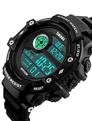 cheap -SKMEI®1280 Digital Watch Waterproof Sports Watch Long Standby Support/ Alarm Clock/ Calendar/ Dual Time Zones