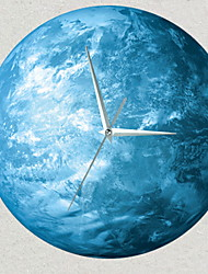 cheap -Modern Style Acrylic Irregular Indoor / Outdoor Battery Decoration Wall Clock Yes Mirror Polished No