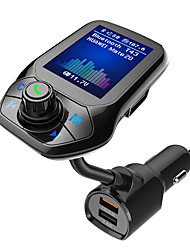 cheap -T43 FM Transmitter / Bluetooth Car Kit Bluetooth / QC 3.0 / Speaker Car