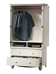 Недорогие -шкаф для спальни шкаф для хранения шкаф с дверцами жалюзи в белом