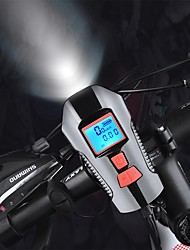 cheap -LED Bike Light Front Bike Light Bike Horn Light Bike Computer / Bicycle Computer Mountain Bike MTB Bicycle Cycling Waterproof Super Brightest Safety Wide Angle USB Lithium Battery 350 lm Camping