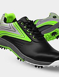cheap -TTYGJ Men's Golf Shoes Waterproof Breathable Anti-Slip Comfortable Golf Autumn / Fall Spring Green Blue