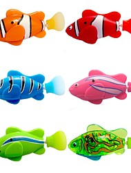 cheap -Bath Toy Water Toys Pet Toy Fish Doll Toy Bathtub Pool Toys Bath Toys Fish Plastic Electronic 6 pcs Summer for Toddlers, Bathtime Gift for Kids & Infants