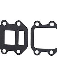cheap -Inlet Manifold Reed Valve Gasket For Yamaha  PW50 PY50 PEEWEE 50 PW PY Seat Breath Intake Block