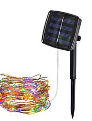 Недорогие -Loende led солнечный светильник 8 режим фея свет рождественские огни 5 м 50led медной проволоки свадьба декор лампы
