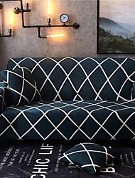 abordables -Housses de canapé extensibles 1 pièce - Housses de canapé imprimées en polyester et élasthanne - Meubles